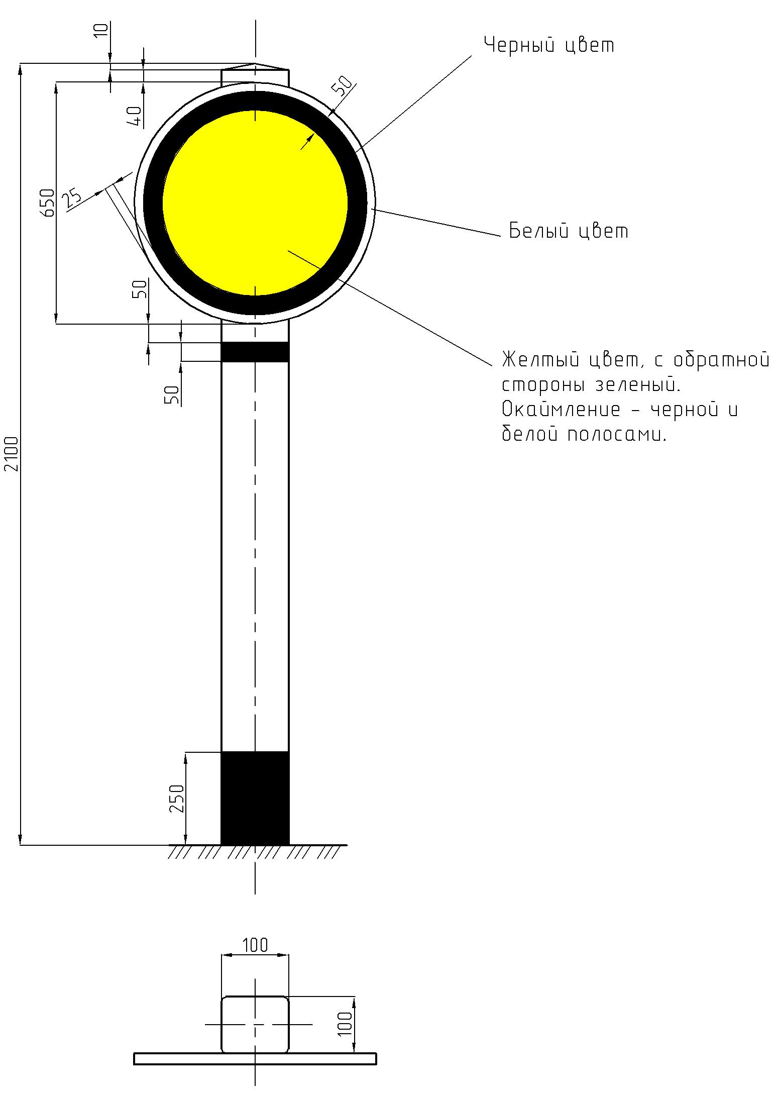 Рисунок 1. Постоянный диск уменьшения скорости