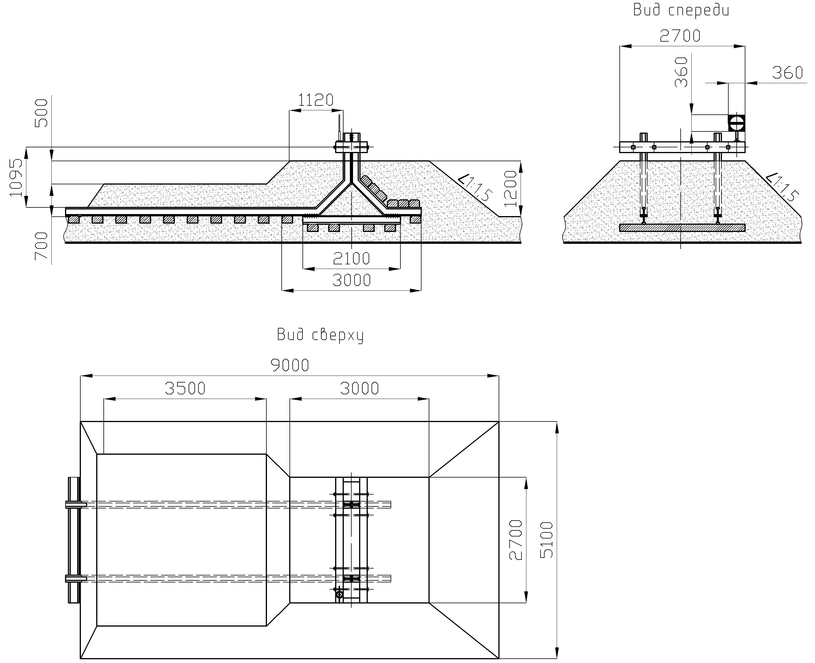 Рисунок 60. Путевой рельсовый упор