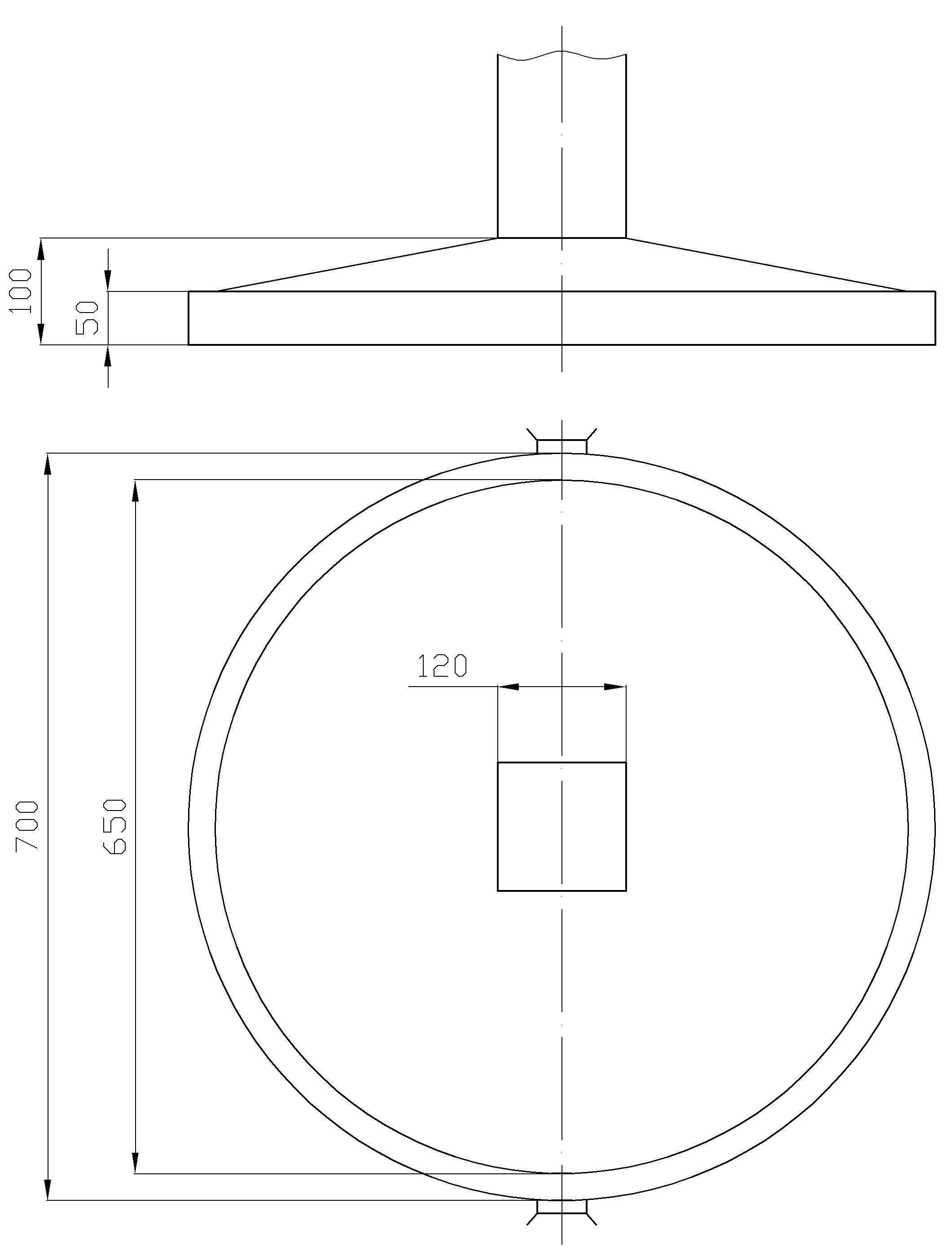 Рисунок 72. Розетка для путевых и сигнальных знаков